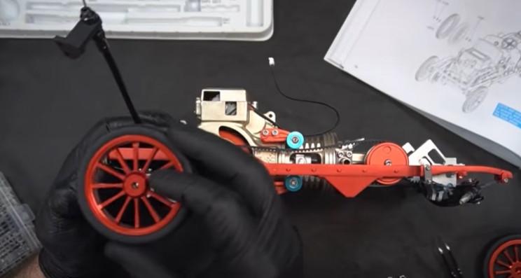 diy classic car rear wheels