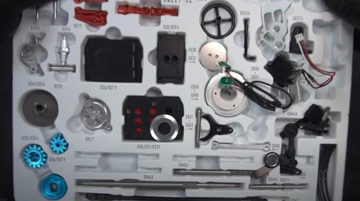 diy model car kit unbox