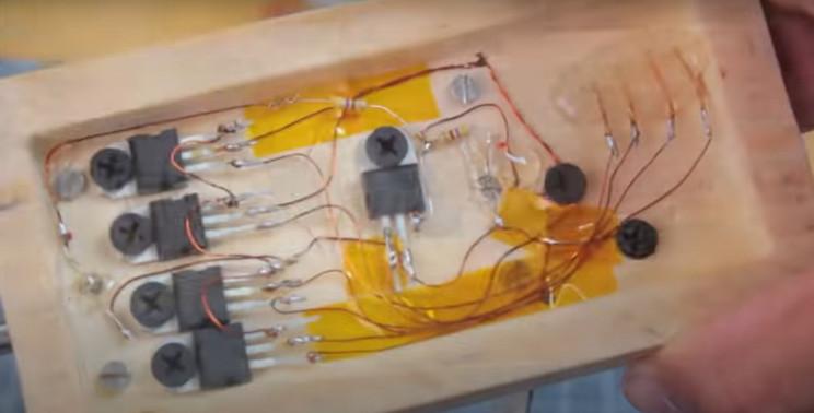 diy solenoid motor wiring