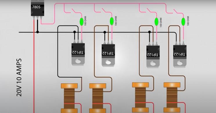 diy solenoid v4 wiring