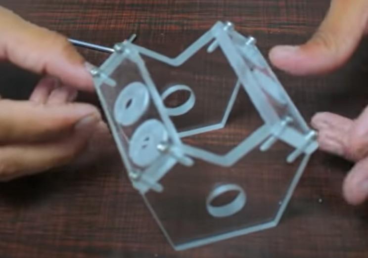 diy solenoid v4 assemble