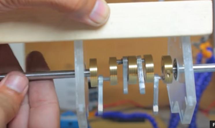 solenoid v4 crankshaft and frame