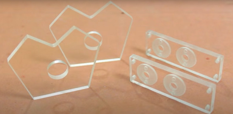 diy solenoid v4 acrylic pieces