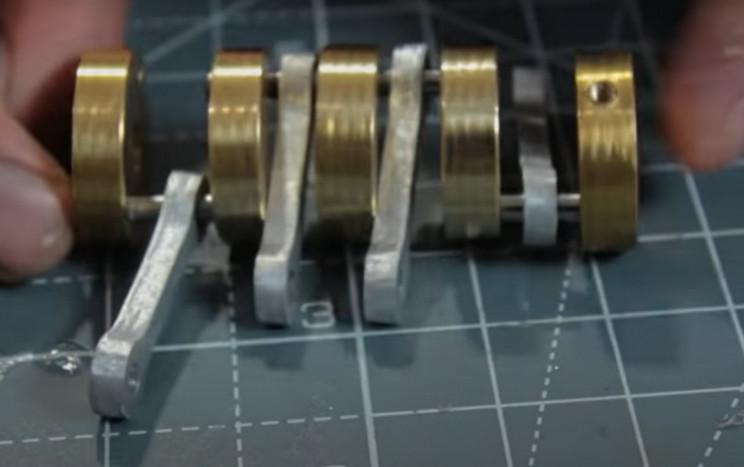 solenoid v4 crankshaft