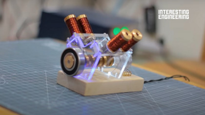How to Build Your Own Solenoid-Powered V4 Engine