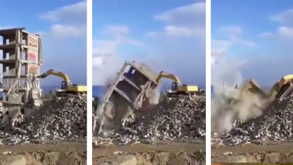 This Operator Doesn't Know How to Use an Excavator, and It Shows