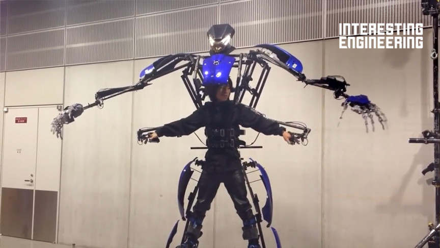 The Impressive Exoskeletons Created Both for Work and for Play