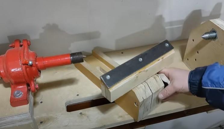 diy lathe tool rest