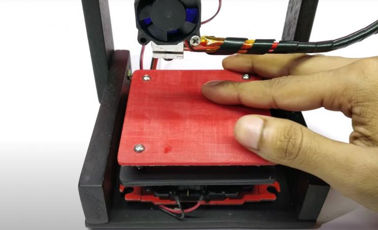 arduino printer print bed