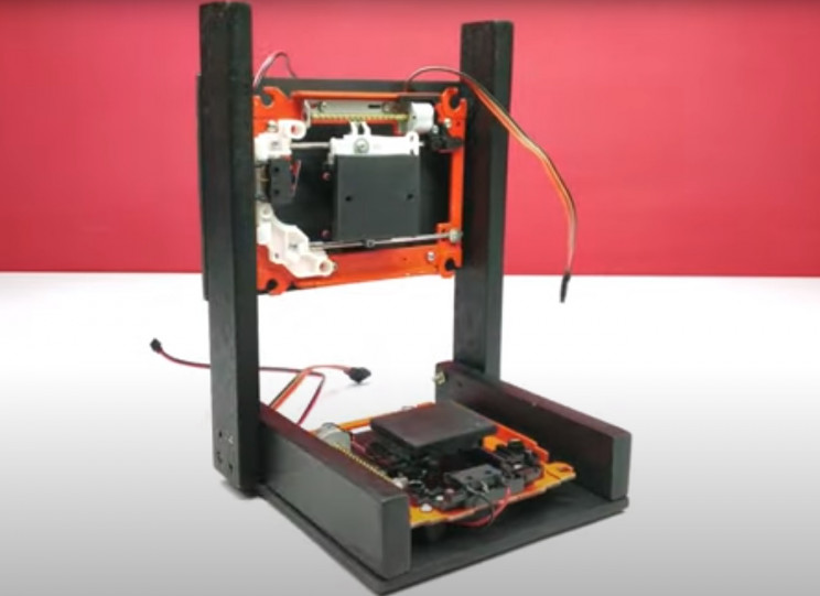 arduino 3d printer dvd bed