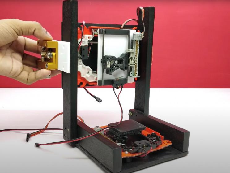 arduino 3d printer with print head