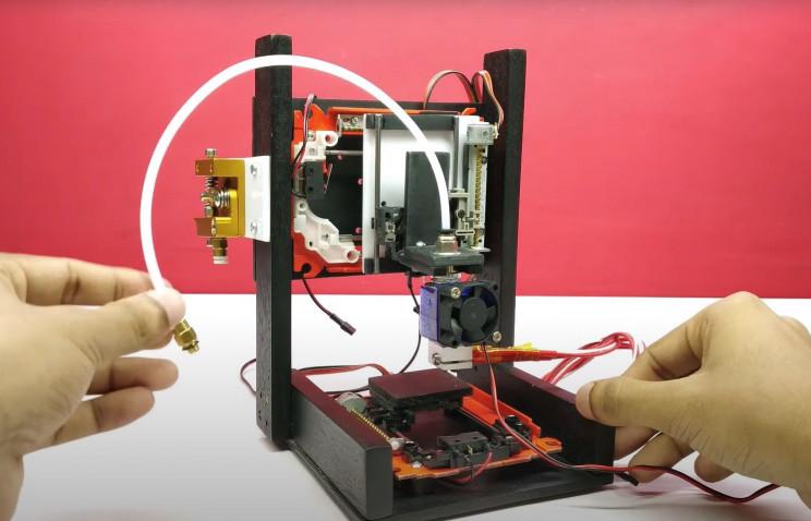 arduino printer hotend in place