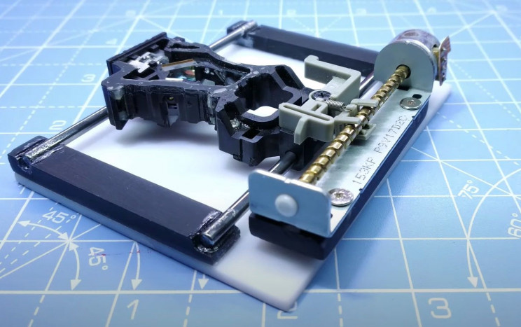 arduino printer print head