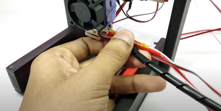 arduino printer spiral cable