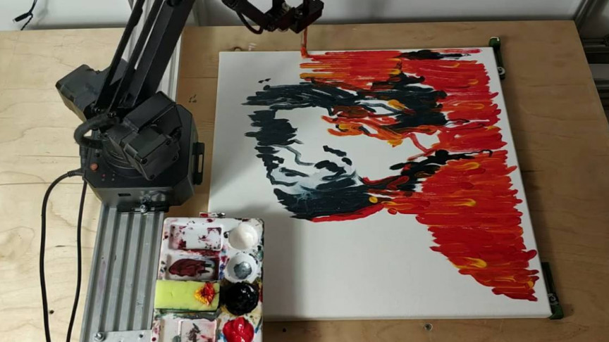 These Data Scientists Taught a Robot How to Paint