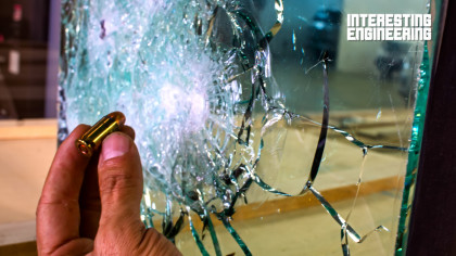 How Strong is the Strongest Glass in the World?