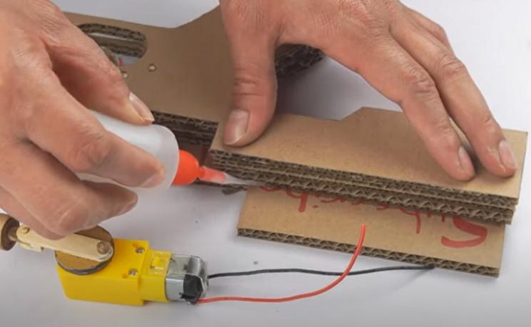 doy cardboard tommy gun body layer 2