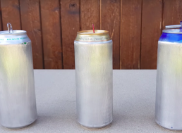 Secret Plastic in Aluminum Cans Revealed through This Funky Experiment