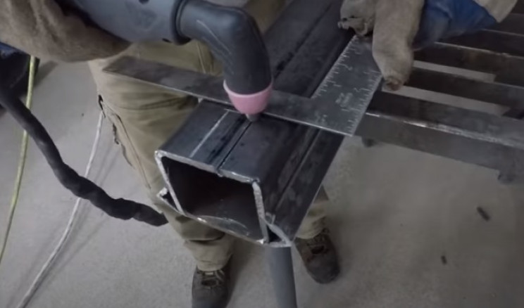 diy stairlift cut rectangle