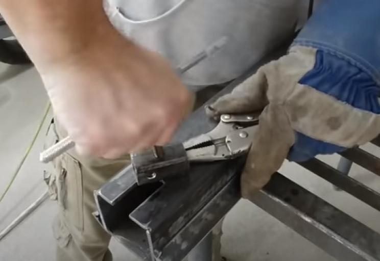 diy tubing tapping screw