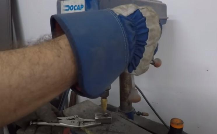 diy steel tubing drill
