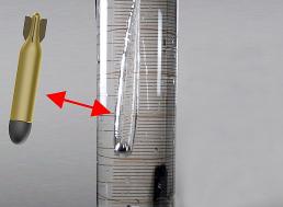 Watch Hydrophobic Steel Balls Cut Through Water With No Drag
