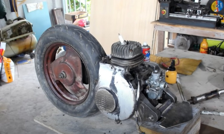 do-it-yourself mini bike disassembly
