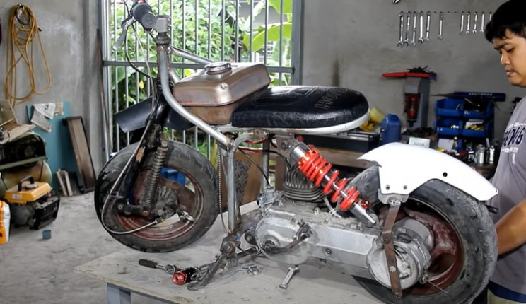 body for minibike diy