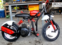 Here's How to Turn a Scrap Scooter into a New Minibike