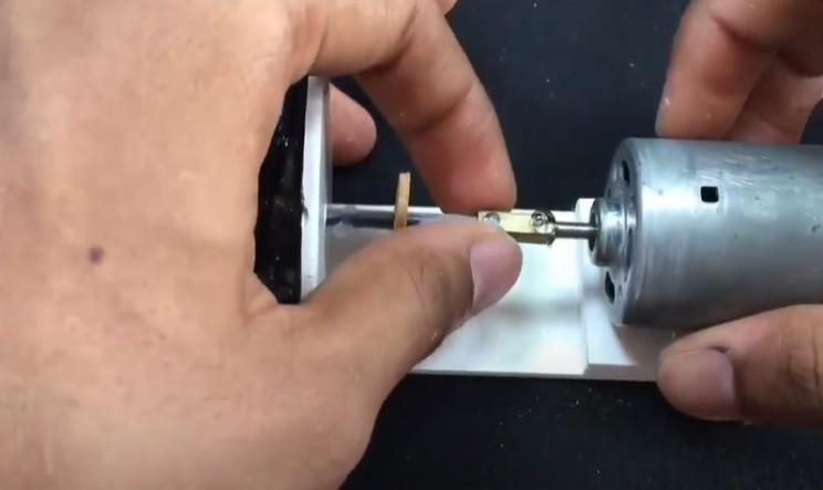 diy water pump connect rof and pump