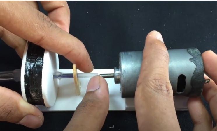 diy water pump impellter motor