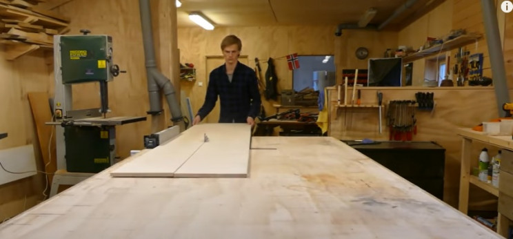 diy transforming bookshelf cut sheets