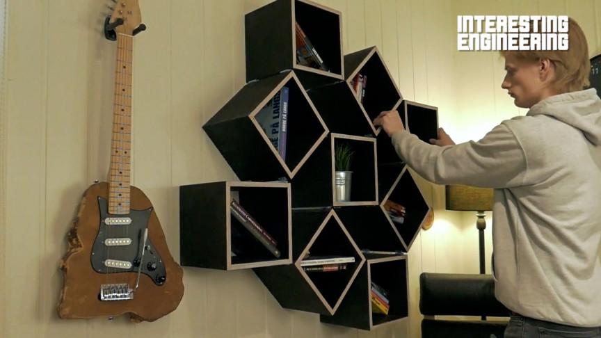 Make Your Own DIY Transforming Fancy Bookshelf