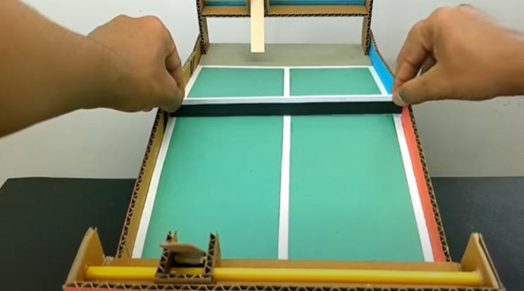 diy cardboard game 1 paint