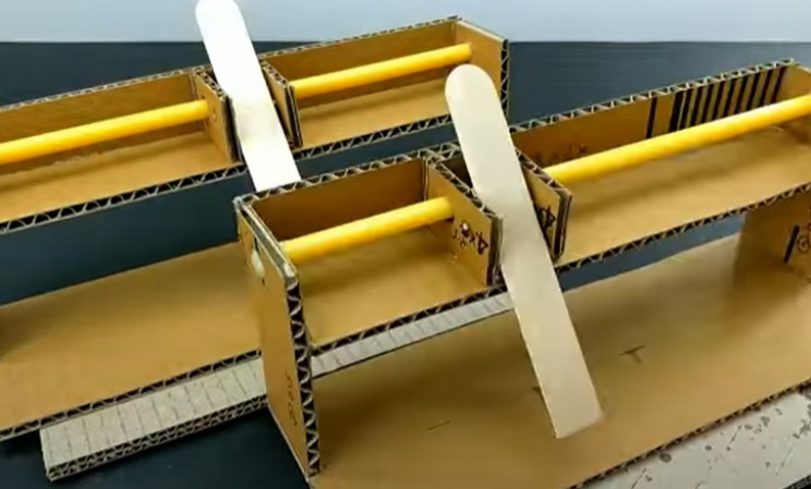 diy cardboard game 1 matching pieces