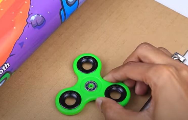 among us game fidget spinner
