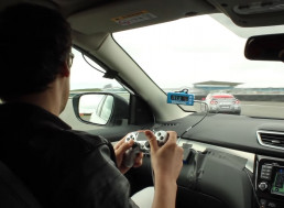 Watch a PS4 Controller Drive a Nissan GT-R Around the Silverstone Circuit