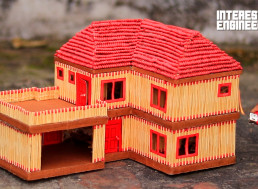 How to Make a Matchstick PUBG House from Scratch