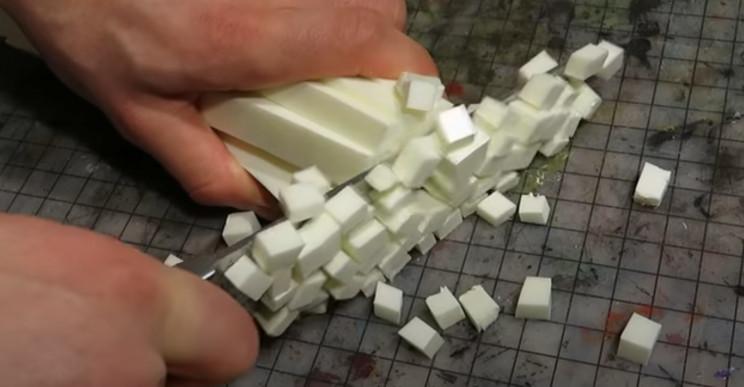 diy model terrain blocks