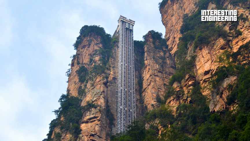 The Controversy of the World's Tallest Outdoor Elevator