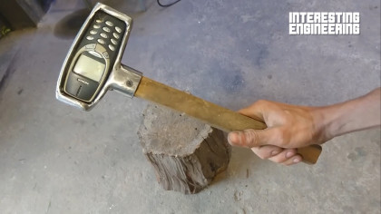 Turning a Nokia 3310 Into a Hammer