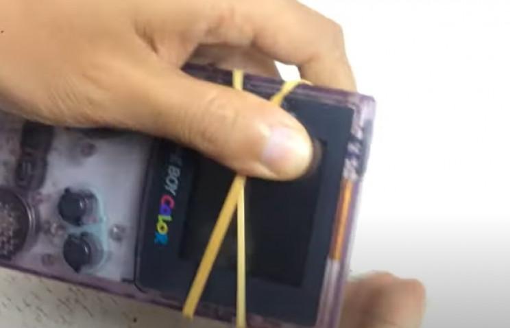 gameboy restore elastic band