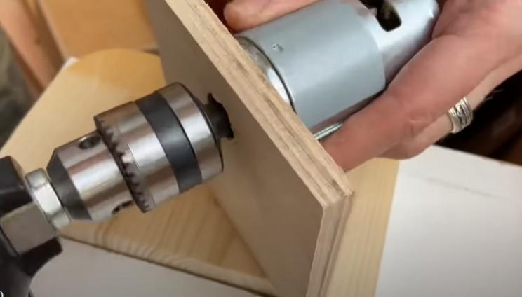 diy disc sander drill bit