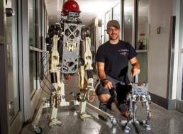 Two-Legged Robot Is a Master at Mimicking Human Balance