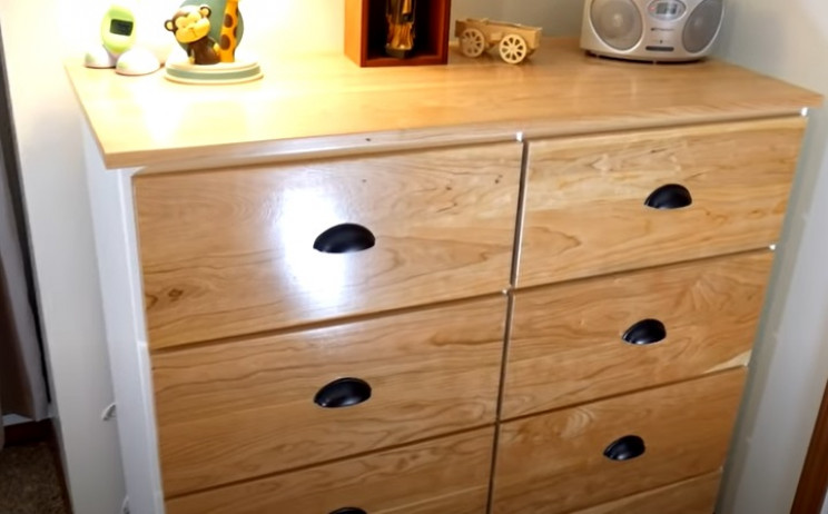 diy dresser complete