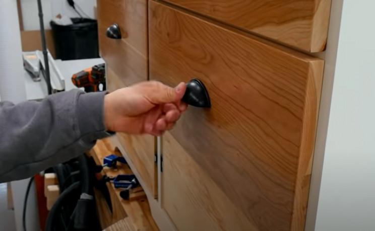 diy dresser draw handles