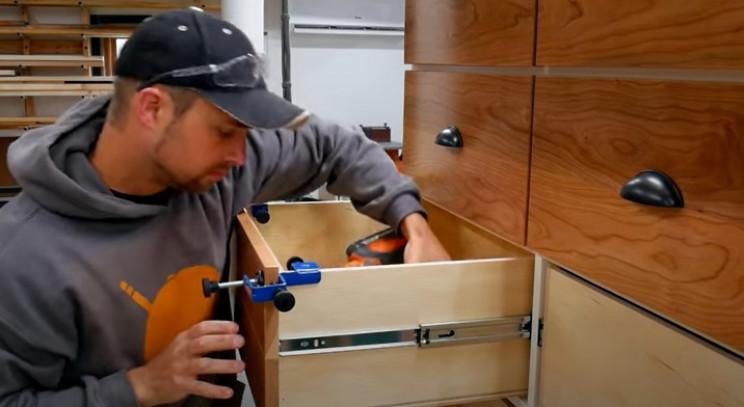 diy dresser draw fronts
