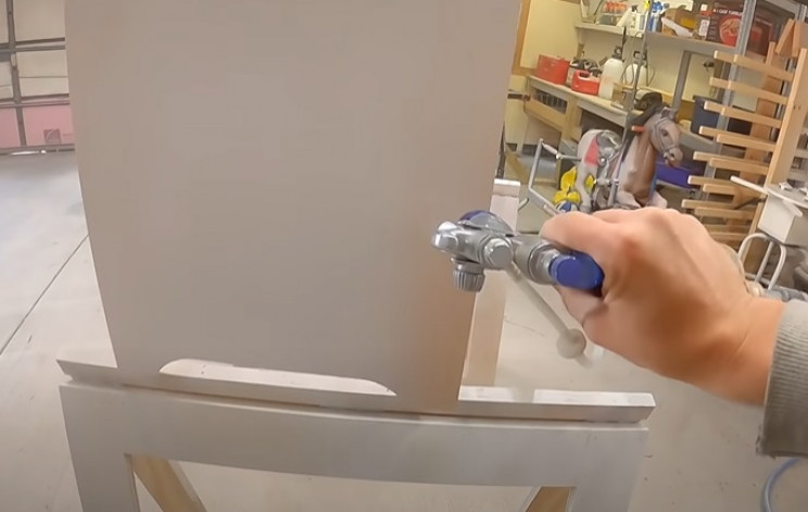 diy dresser paint main body