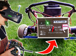 This Robot Lawnmower Can Be Controlled Through VR