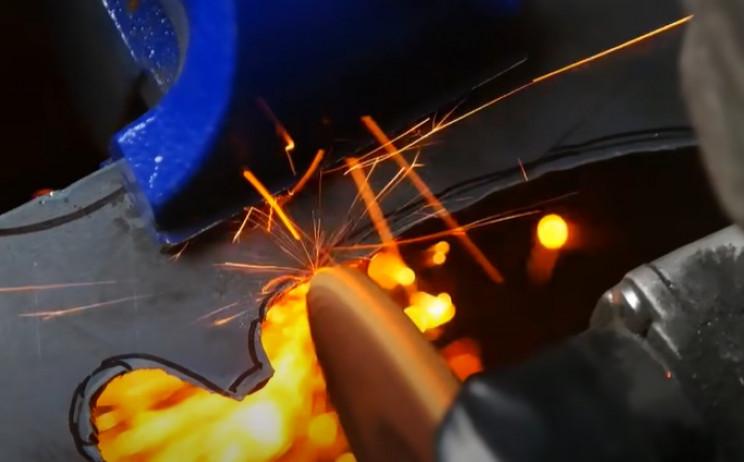 diy rotary cutter clean cut